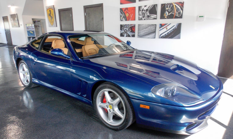 ferrari 550 maranello 2001 forza motorcars. Black Bedroom Furniture Sets. Home Design Ideas