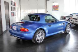Blue BMW-3