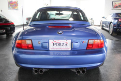 Blue BMW-7