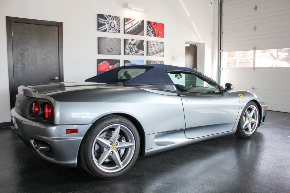 Ferrari 360 Spider 6 Speed Manual 2003 Forza Motorcars